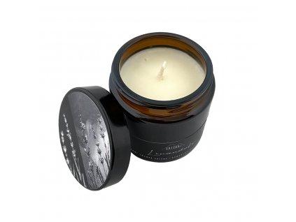 Svíčkuj Ručně vyráběná svíčka Levandule 120 ml