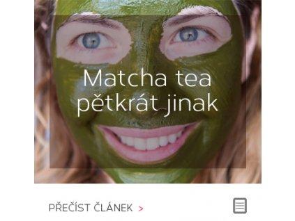 Matcha Tea pětkrát jinak