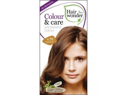 Hairwonder Dlouhotrvající barva Bio Oříšková 6.35 100ML