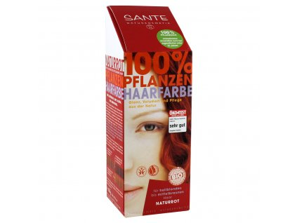 Sante Rostlinná barva na vlasy Přírodní červená Bio 100g