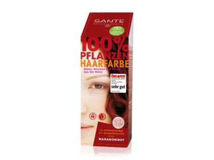 Sante Rostlinná barva na vlasy Mahagon Bio 100g