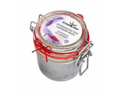 Soaphoria Peeling Levandulové pole 250 ml