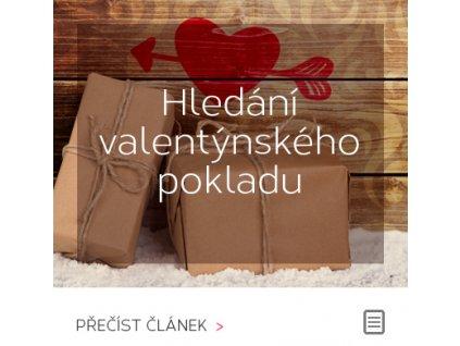 Valentýnské hledání pokladu