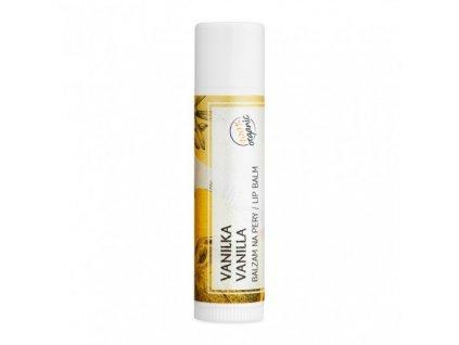 vanilka organicky balzam na pery