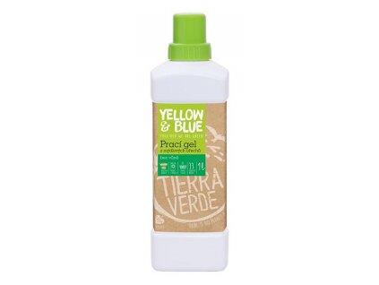 Yellow & Blue Prací gel z mýdlových ořechů bez vůně 1 l