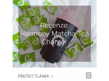 Recenze - Harmony Matcha Tea Charger