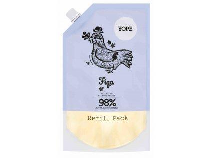 Yope Náhradní náplaň Tekuté mýdlo na ruce Fík 500 ml