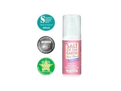 Crystal Spring Salt of the Earth Pure Aura deospray 100 ml