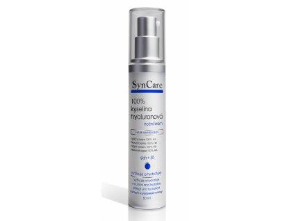 Syncare 100% kyselina hyaluronová Noční krém 50 ml