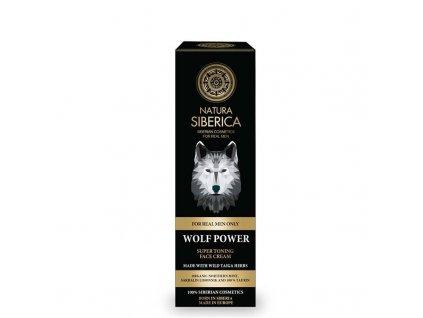 Natura Siberica Super tonizující krém na obličej Vlčí síla 50 ml
