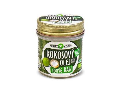 Purity Vision RAW kokosový olej BIO 120 ml