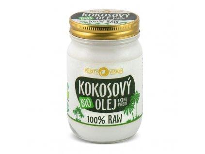 purity vision raw kokosovy olej 370 ml