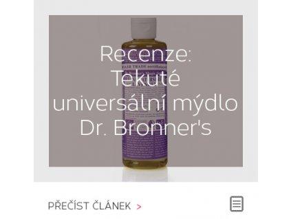 RECENZE: TEKUTÉ UNIVERZÁLNÍ MÝDLO - DR. BRONNER'S
