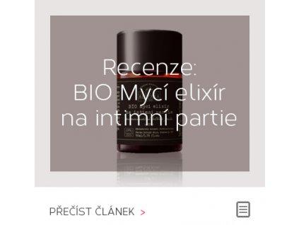 RECENZE - BIO MYCÍ ELIXÍR NA INTIMNÍ PARTIE