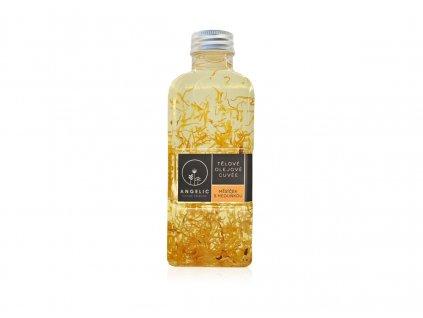 Angelic Tělové olejové Cuvée Měsíček s meduňkou 200 ml