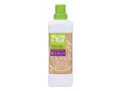 Yellow & Blue Prací gel z mýdlových ořechů s levandulovou silicí 1 l