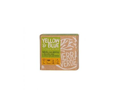 Yellow & Blue Olivové mýdlo s citronovým extraktem na skvrny 200 g