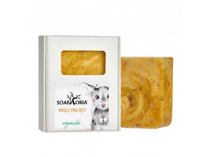 Soaphoria Babyphoria Organické mýdlo pro děti 115g