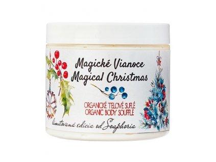 Soaphoria Magické Vánoce Přírodní tělové suflé 200ml