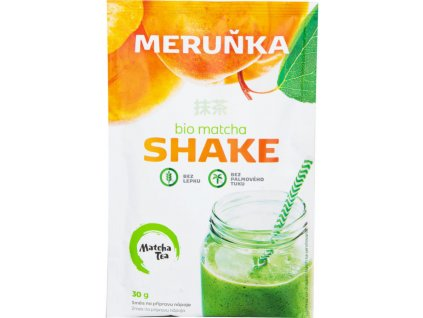 Matcha Tea BIO Matcha Shake s meruňkami 30 g