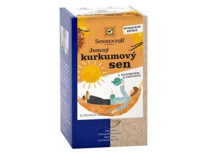 Sonnentor Jemný kurkumový sen BIO čaj porcovaný 27g
