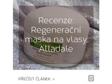 Recenze: Regenerační maska na vlasy Alladale