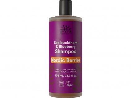 Urtekram Šampón Nordic Berries na poškozené vlasy Bio 500 ml