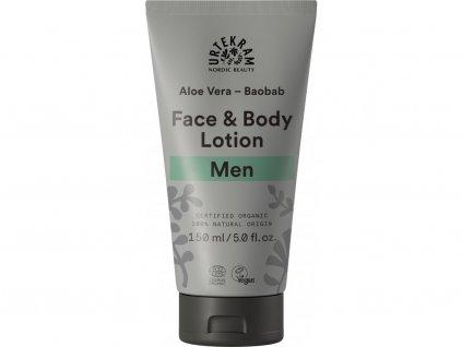 Urtekram Krém na tělo i obličej MEN Bio 150 ml
