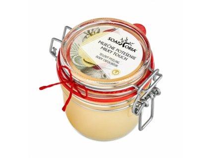 Soaphoria Tělový peeling Mléčné potěšení 250 ml