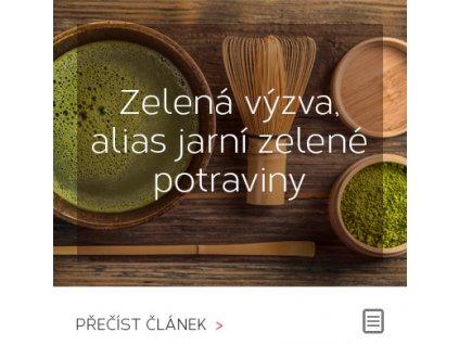 Zelená výzva, alias jarní zelené potraviny