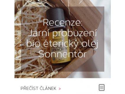 Recenze - BIO éterický olej Jarní procitnutí od Sonnetor