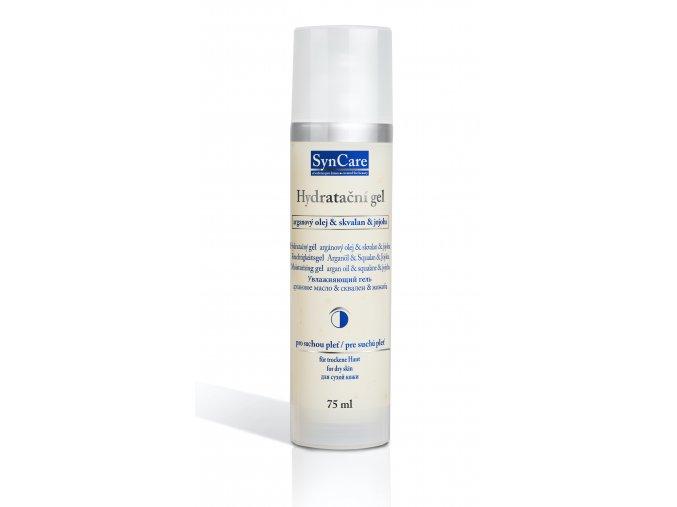 Syncare Hydratační gel s arganovým olejem,skvalanem a jojobou 75 ml