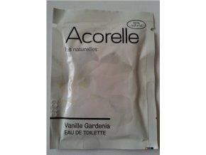 Acorelle Toaletní voda EDT Vanilka gardenia 3ml vzorek