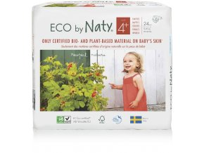 Naty Nature Babycare Maxi 4+ 9-20kg 24 ks