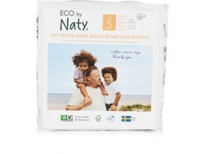 Naty Nature Babycare Junior 11-25 kg 22 ks