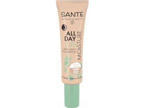 Sante Hydratační 24h make-up 02 písková 30ml