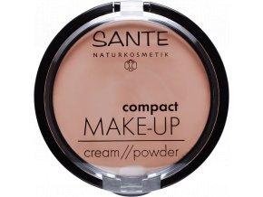 Sante Kompaktní krémový make-up 02 béžová 9g