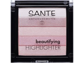 Sante Beautifying highlighter 02 růžová 7g