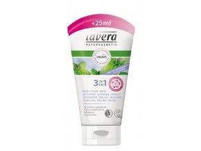 Lavera Sprchový peeling Bio Verbena & Bio Limetka 150 ml