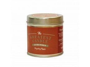 The Greatest Candle Vonná svíčka v plechovce 200g Květ darjeelingu