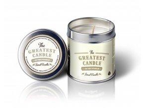 The Greatest Candle Vonná svíčka v plechovce 200g Sladká vanilka