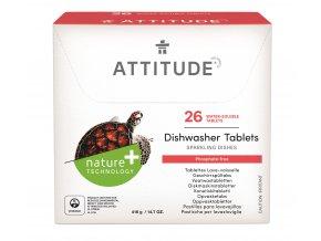 Attitude Tablety do myčky bez fosfátů (26 dávek)