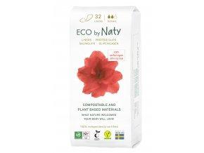 Eco by Naty Dámské ECO slipové vložky Normal 32 ks