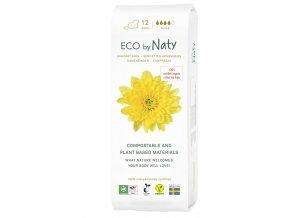 Naty Nature Dámské ECO vložky Super s křidélky 13 ks