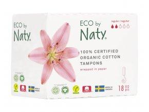 Eco by Naty Dámské ECO tampóny Regular 18 ks