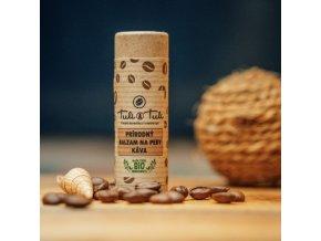 Ťuli a Ťuli Přírodní balzám na rty káva 20ml