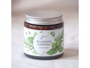 Jemnô Sójová svíčka Bylinková zahrada – Rozmarýn a máta kadeřavá 90 g