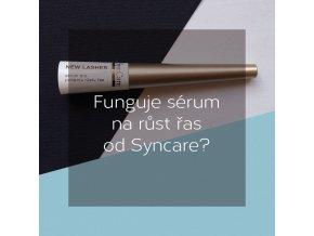 Funguje sérum na růst řas od Syncare?