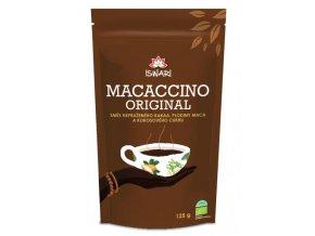 Iswari Macaccino BIO instantní kakaový energetický nápoj 125 g