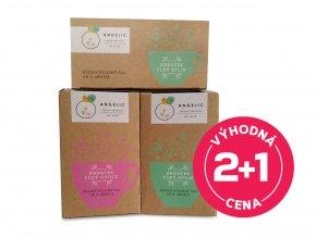 2x Angelic Dětský bylinný čaj 30 g + 1x Angelic Dětský ovocný čaj 40 g za výhodnou cenu!